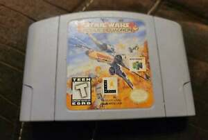 Star Wars Rogue Squadron N64 Nintendo 64 authentic tested