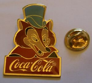 Disney-1986-Coca-Cola-FOULFELLOW-PINOCCHIO-pin-badge