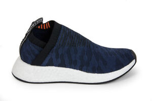 6cf3d2b21cd07d Adidas Originals Women s NMD CS2 Primeknit in Core Black Indigo ...