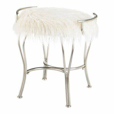 Vanity Makeup Bathroom Seat Stool, Vanity Bathroom Stool