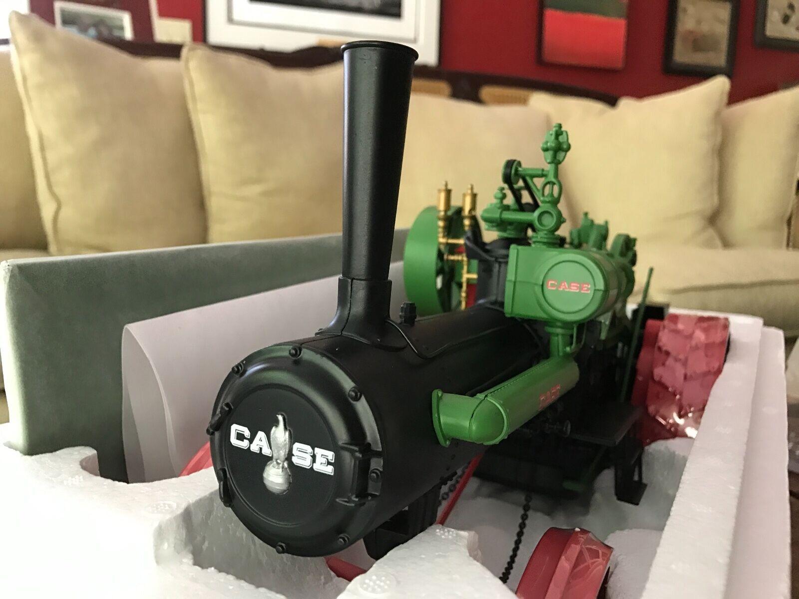 Case  Steam Traction Engine ERTL Millenium Farm Classics tracteur Brandnouveau en boîte  prix de gros