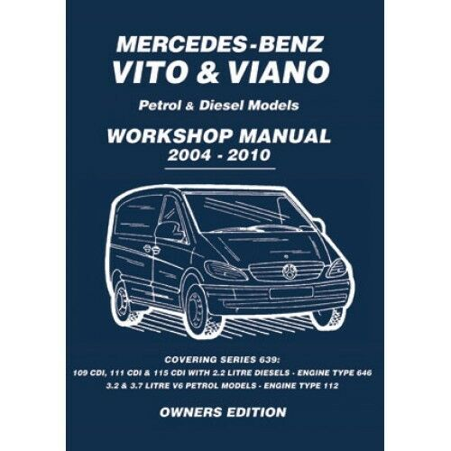 mercedes benz vito viano 2004 2010 owners workshop manual mbv4wh rh ebay co uk Mercedes-Benz Vito 2002 mercedes vito 112 cdi owner's manual