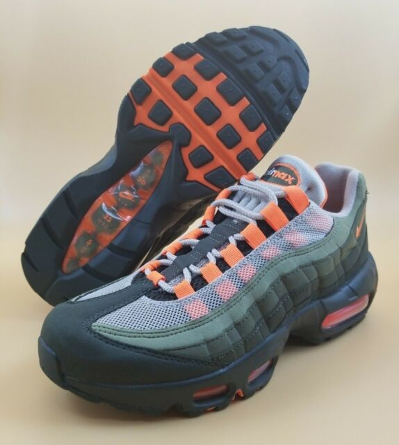 sports shoes 00a23 d8eb2 Nike Air Max 95 OG AT2865-200 SIZE 6 6.5 Men Running Shoes String Orange