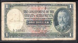 Straits-Settlements-Government-issue-1-dollar-1-1-1935-L-7-16541-Pick-1