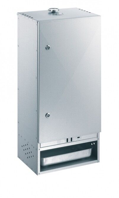 Peetz 630015 Räucherofen Räucherschrank 85x39x21cm-aluminiertes Feinblech Tür