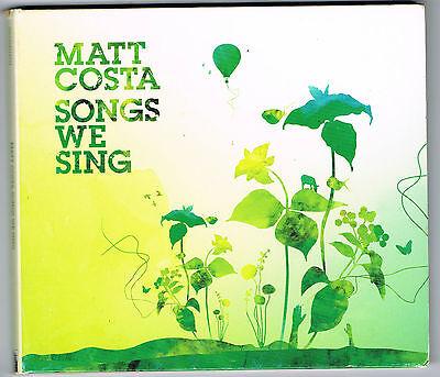 MATT COSTA - SONGS WE SING - OCCASION - BON ÉTAT