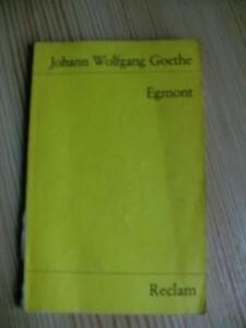 Johann-Wolfgang-Goethe-Egmont-Reclam