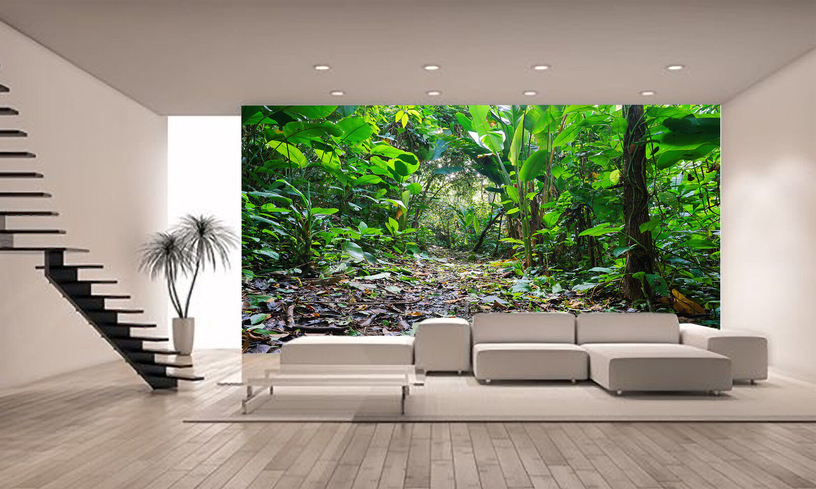 Fantasy Tropical Jungle Forest Wall Mural Photo Wallpaper GIANT WALL DECOR