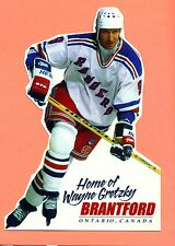 Wayne Gretzky NHL New York Rangers Brantford Tourism Canada ONLY Issue Postcard