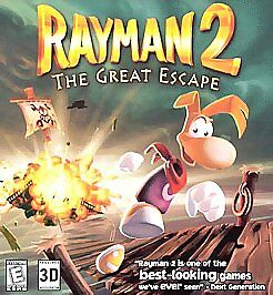 Rayman 2 The Great Escape Pc 1999 For Sale Online Ebay
