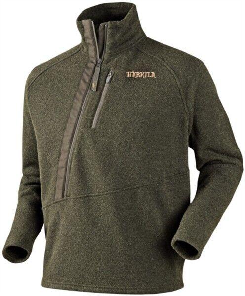 Härkila Jumper Nite - Active Wool - Warm Olive