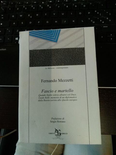 FASCIO E MARTELLO FERNANDO MEZZETTI