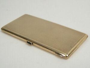 Dose Gold 585 Zigarettendose Guilloche Dekor - Österreich Signiert Und Punziert Grade Produkte Nach QualitäT
