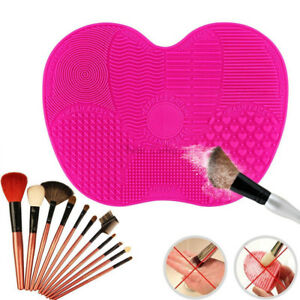 Silicone-Butterfly-Makeup-Brush-Cleaner-Pad-Washing-Scrubber-Board-Cleaning-Mat