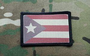 Puerto-Rican-Rico-Flag-Desert-Subdued-Hook-Morale-Patch-2x3-Multicam-Boricua