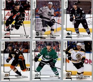 2017-18-O-Pee-Chee-Hockey-Base-Set-Cards-Choose-From-Card-039-s-201-400