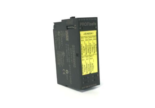 Siemens Simatic s7 electrónica módulo 6es7138-4fc01-0ab0//6es7 138-4fc01-0ab0