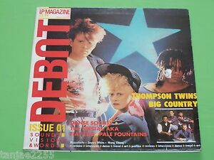 Debut-Magazine-1-V-A-Pale-Fountains-Thompson-Twins-UK-LP