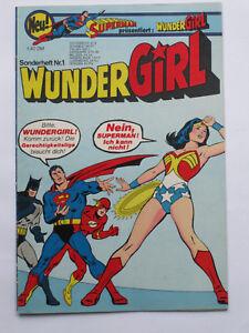 37 1 x Comics Wunder Girl Sonderheft Nr