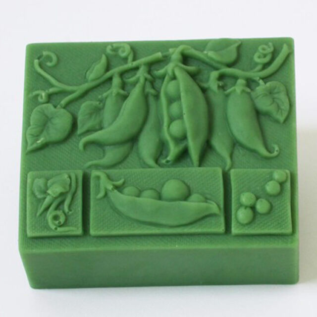 Silicone soap mold DIY Craft clay candy resin Decorating pillar handmade soap