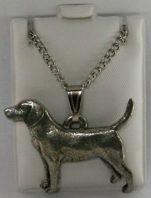 BEAGLE Dog Harris Fine PEWTER PIN Jewelry Art USA Made