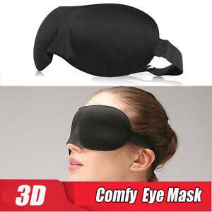 Soft-Pad-3D-Eye-Mask-Relax-Blindfold-Shade-Cover-Flight-Car-Sleeping-Travel