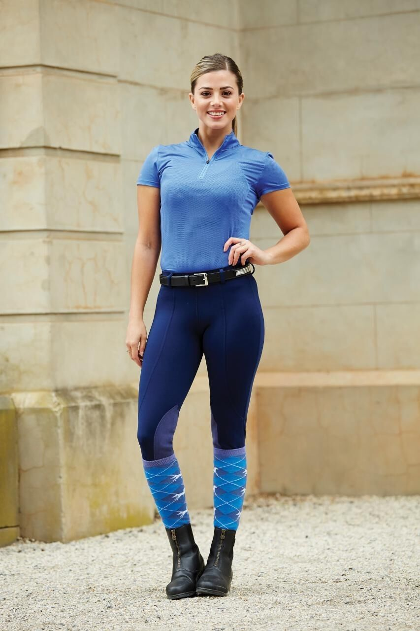 Dublin Performance Flex Knee Patch Horse Riding Tights ALL SIZES & COLOURS