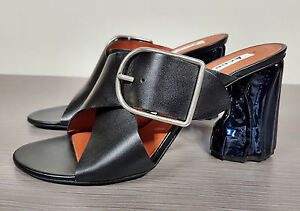 Acne-Studios-Olej-Sandal-Black-With-Blue-Scupted-Heel-Womens-Size-10-40-640