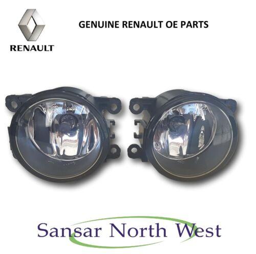 Pair of Brand New Genuine Renault Front Fog Lamp Spot Light Valeo 8200074008