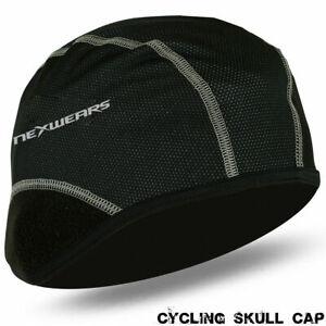 Cycling Skull Cap Bike Motorbike Under Helmet Liner Winter Windstopper Cycle