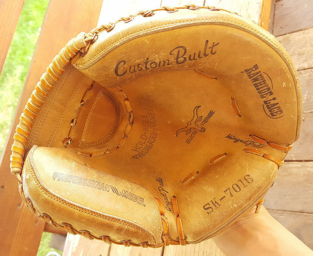 Vintage Catchers Mitt-Naional King-SK 7016-Pro Model-Steerhide