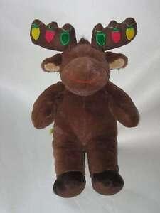 image is loading build a bear plush hal the moose christmas - Christmas Stuffed Animals