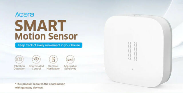 Xiaomi Aqara ZigBee Vibration Motion Sensor Safety SmartThings Samsung