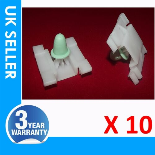 For VW FRONT DOOR BUMPSTRIP MOULDING TRIM CLIPS WITH PIN X10