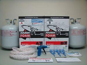 Closed Cell Spray Foam Insulation Kit - DIY - 605 BFT FOMO ...
