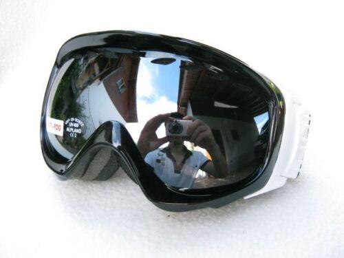 Ravs Alpine Schutzbrille Skibrille  Doppel Scheibe gespiegelt  Antibeschlag