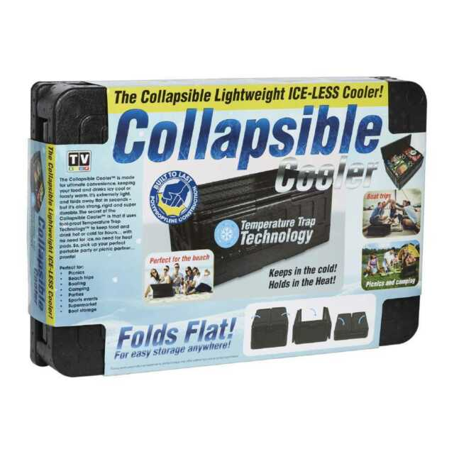 NEW As Seen On Tv Brand Developers Brand Developers Collapsible Cooler By Spotli