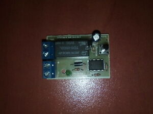 Details about DC MOTOR REVERSE POLARITY SWITCH DPDT RELAY CONTROLLER MODULE  2A 12V BUTTON PUSH