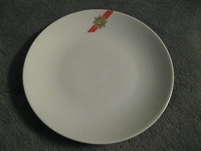 "TWA Trans World Airlines Vintage First Class Airplane ABCO 7"" White Dinner Plate"