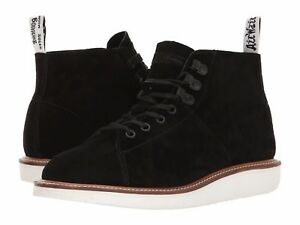 Doc Martens LESLEY LTT Black Suede Leather Bouncing Sole Chukka Boot ... 473021aed