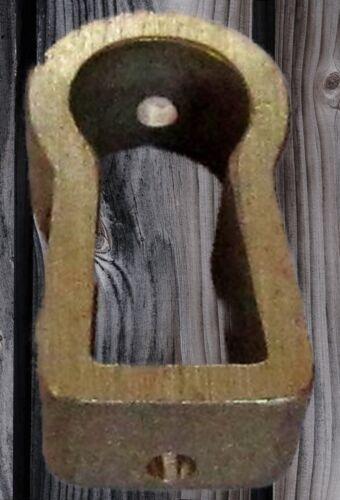 Schlüsselloch Buchse Bronze Beschlag für die perfecte Restauration Biedermeier