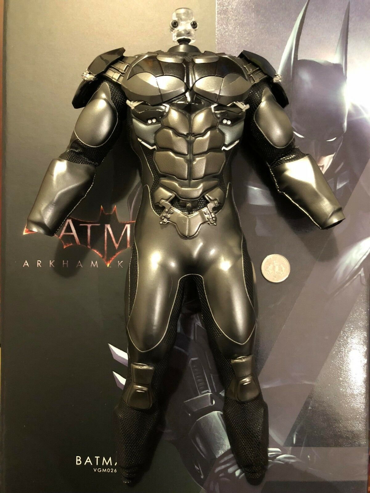 Hot Toys Arkham Knight Batman VGM26 Body & Armour Suit loose 1/6th scale