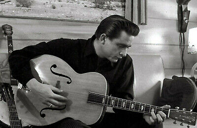 JOHNNY CASH GLOSSY POSTER PICTURE PHOTO FOLSOM MUSIC MAN IN BLACK GUITAR ROCK 11