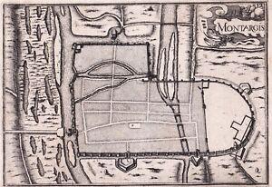 Gravure-XVIIe-Montargis-Loiret-Christophe-Tassin-1634