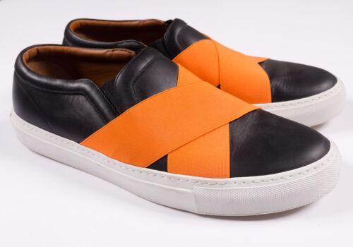ons 43 Orange Slip Taille Cuir En Skate Noires Et Basketslastiques Cross Givenchy qxw7vpTw