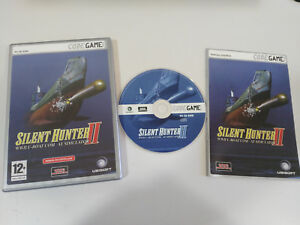SILENT-HUNTER-II-WWII-U-BOAT-COM-AT-SIMULATOR-JUEGO-PC-CD-ROM-EDIC-ESPANA