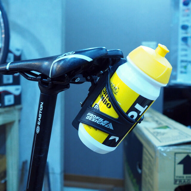 New Elite Aeton Triathlon Aero Water Bottle with Cage Kit TT Kit 1 L