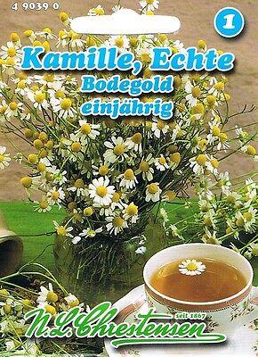 490390 Kamille echte Bodegold Saatgut Samen Gewürze Kräuter