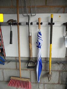 Toolflex 50cm Tool Rail +3 holders garage shed rack stable van workshop storage