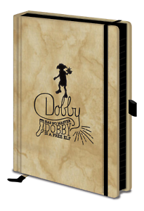 A5 Premium Harry Potter Dobby Is A Free Elf Notebook Novelty Film Sock Gift